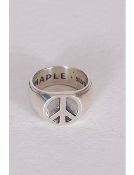 Maple Peace Ring   Silver 925 by Garmentory