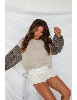 Ventura Cheetah Knit Top by American Threads