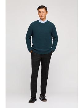 Cotton Cashmere Raglan Sweater by Bonobos