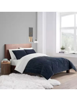 Ugg Avery Comforter Set Glacier Gray Full/Queen by Bed Bath And Beyond