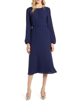 Long Sleeve Midi Dress by Halogen®