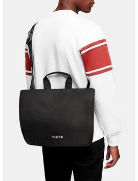 Nicce Black Logo Tote Bag by Topman