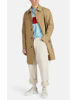 Lace Up Cotton Coat by Craig Green