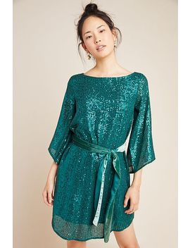 Starling Sequined Tunic by Anthropologie