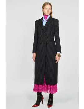 Pinstripe Dress Coat by Zara
