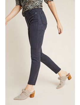Pilcro High Rise Jacquard Skinny Jeans by Pilcro And The Letterpress