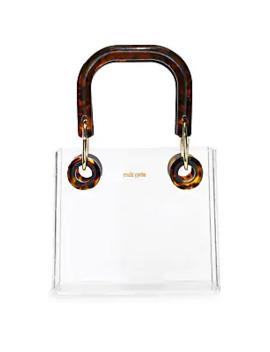 Geneva Acrylic Box Bag by Cult Gaia