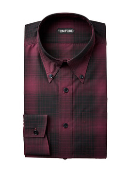 Slim Fit Dress Shirt by Tom Ford Slim Fit Dress Shirt