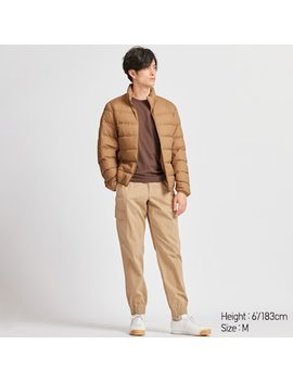 Men Ezy Jogger Cargo Trousers (Online Exclusive) by Uniqlo