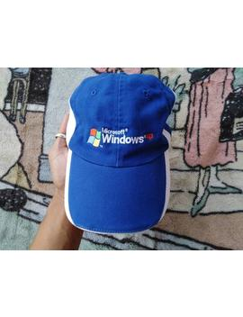 Microsoft Windows Xp Hoed Surfwear Pc Vintage Hoed by Etsy