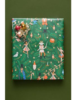 Rifle Paper Co. Nutcracker Wrapping Paper Roll by Rifle Paper Co.