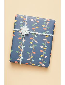 Rifle Paper Co. Holiday Lights Wrapping Paper Sheets, Set Of 3 by Rifle Paper Co.