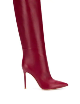 Pointed Knee Length Boots by Gianvito Rossi