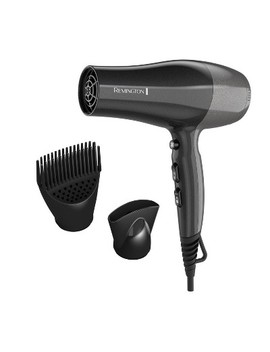 Remington Pro Hair Dryer With Touch Style Technology   Black by Remington