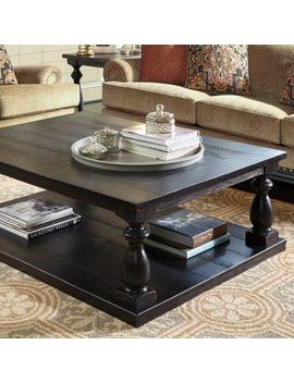 Signature Design By Ashley® Mallacar Rectangular Coffee Table by Signature Design By Ashley