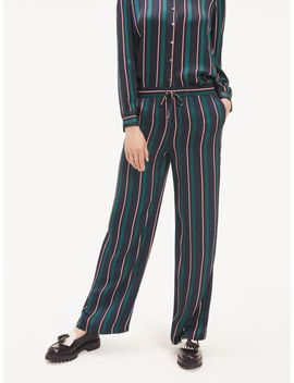 Regimental Stripe Drawstring Pants by Tommy Hilfiger
