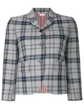 Thom Browne Tartan Wool Sport Coat by Thom Browne