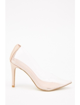 Transparent Court Heels by Everything5 Pounds