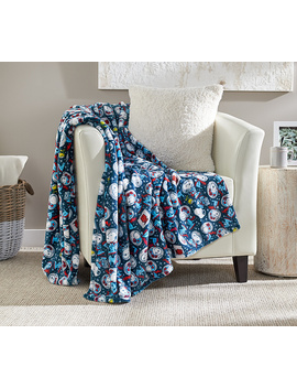"Berkshire Blanket 55""X70"" Limited Edition Snoopy In Space Peanuts Throw by Berkshire Blanket"