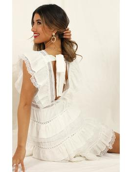 Dream For Days Dress In White Lace by Showpo Fashion