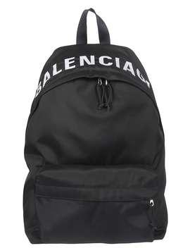 Balenciaga Top Logo Backpack by Balenciaga