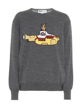 Yellow Submarine Virgin Wool Sweater by Stella Mc Cartney