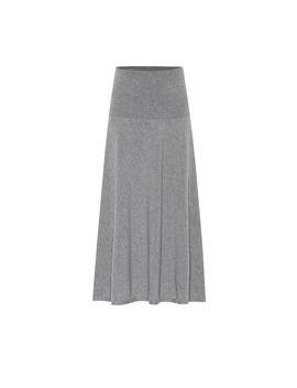 Wool Blend Knit Midi Skirt by Stella Mc Cartney