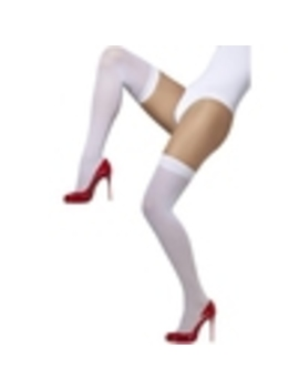 Fever Over The Knee Opaque Hold Ups by Lovehoney