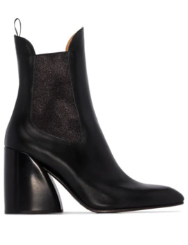 Wave 90mm Ankle Boots by Chloé