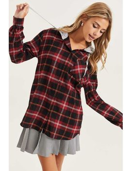 Plaid Flannel Shirt by Ardene