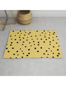 Leopard Print Rug by Society6