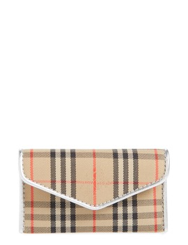 Small 1983 Check Envelope Card Case by Burberry