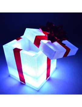 Glow City Light Up Multi Colored Led Lights Gift Box That Actually Opens by Glow City