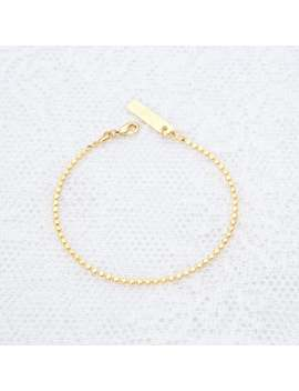 Sierlijke Gouden Armband, Delicate Gouden Ketting Armband, Gelaagde Armband, Bruidsmeisje Gift, 24k Goud Of Zilver Vergulde Sieraden. by Etsy