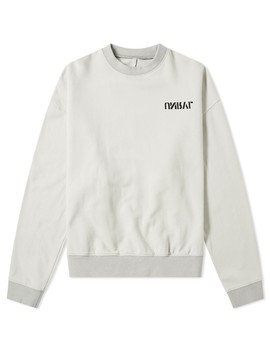 Unravel Project Skull Print Crew Sweat by Unravel Project