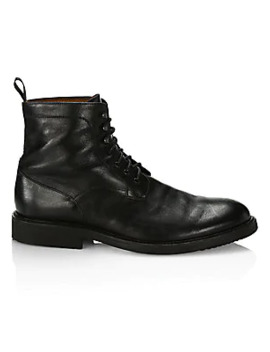 Collection Leather Ankle Combat Boots by Saks Fifth Avenue