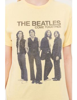 Junk Food The Beatles Come Together Tee by Junk Food