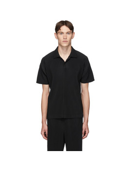 Black Basics Polo by Homme PlissÉ Issey Miyake