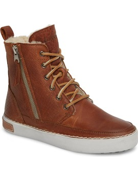 'cw96' Genuine Shearling Lined Sneaker Boot by Blackstone