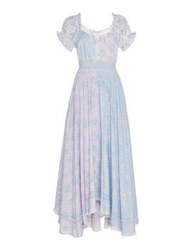 Ren Cotton Print Dress by Love Shack Fancy