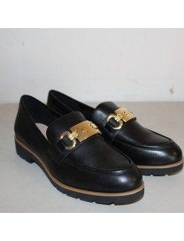 Kate Spade Kolby Black Leather Loafers Shoes Mocpreowned/Used by Kate Spade