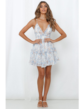 Erase It All Dress White by Hello Molly