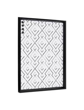 Calter Black Geo Magnetic Memo Board by Kate And Laurel