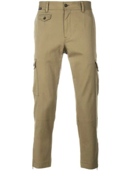 Slim Cargo Trousers by Dolce & Gabbana