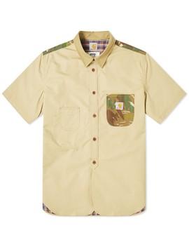 Junya Watanabe Man E Ye X Carhartt Camo Patch Shirt by Junya Watanabe Man