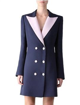 Opposites Attract Tux Coat Dress by Carla Zampatti