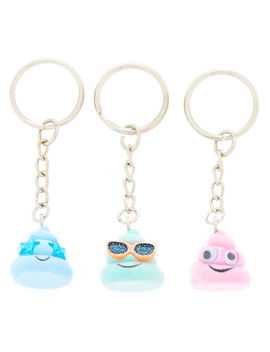Best Friends Summer Poo Keychains   3 Pack by Claire's