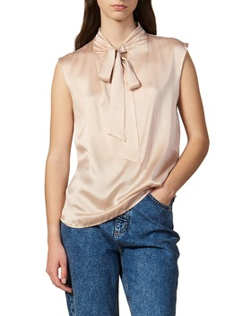 Hash Silk Top by Sandro