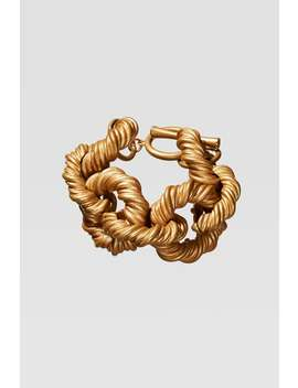 Limited Edition Embossed Link Bracelet by Zara