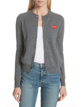 Play Wool Cardigan by Comme Des GarÇons